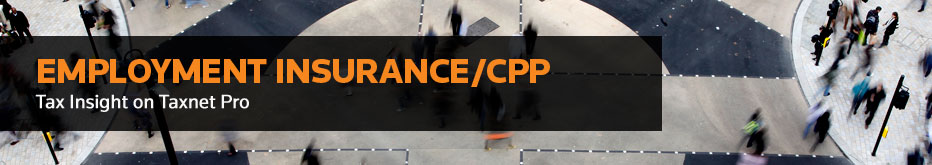 Employment Insurance/CPP
