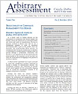 Arbitrary Assessment Newsletter