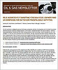 Oil & Gas Newsletter