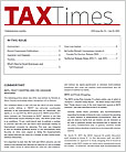 Tax Times Newsletter
